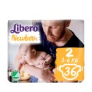 Libero Newborn 2 3-6 kg Nappies 36 pcs