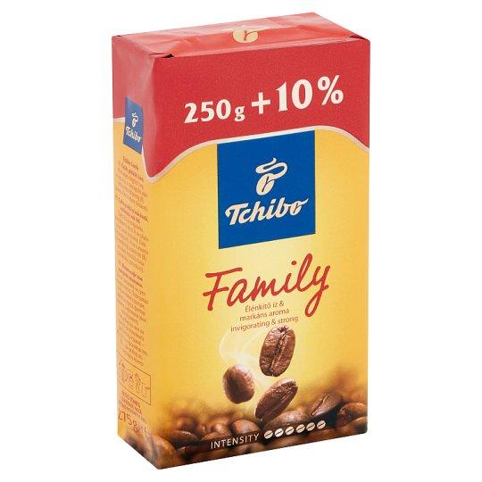 Tchibo Family őrölt, pörkölt kávé 275 g