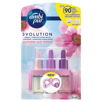 Ambi Pur 3Volution Air Freshener Plug-In Refill Flowers & Spring 20 ml