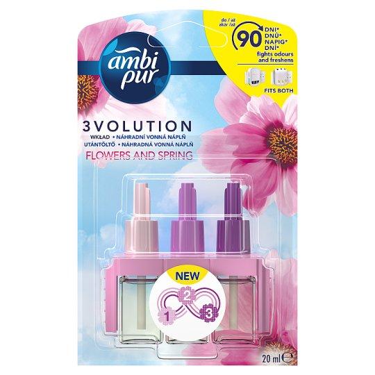 Ambi Pur 3Volution Flowers & Spring Elektromos Légfrissítő Utántöltő 20ml