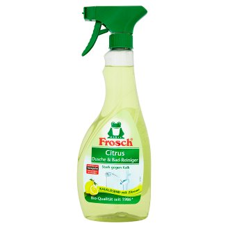 Frosch Lemon Douche & Bath Cleaning Spray 500 ml