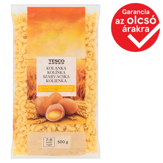 Tesco Hornlets Dry Pasta with 4 Eggs 500 g