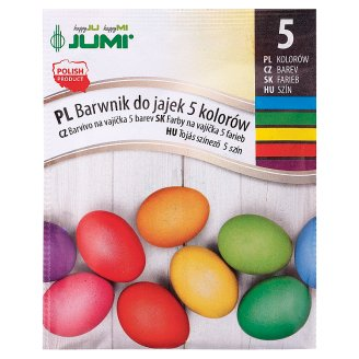 Jumi Dye for Eggs 5 Colours