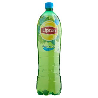 Lipton Green Ice Tea Low-Energy Lime & Mint Flavoured Non Carbonated Drink 1,5 l