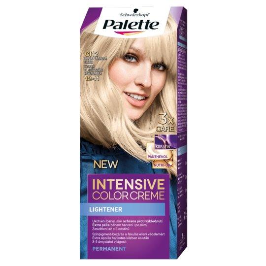 Schwarzkopf Palette Intensive Color Creme intenzív krémhajfesték 12-11 szuper platinaszőke (CI12)
