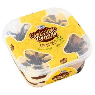 Ledo Ginissimo Grande Banán Split csokoládés & vanília és keksz & banán ízű jégkrém 1650 ml