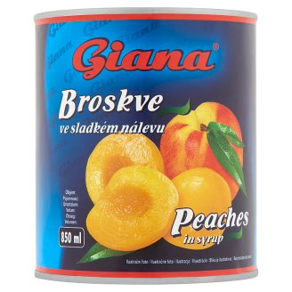 Giana Peach Compote 820 g
