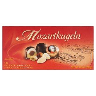 Schluckwerder Mozartkugeln csokoládé marcipánnal és mogyoró-nugáttal töltve 200 g