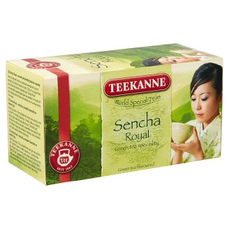 Teekanne Sencha Royal Flavoured Green Tea with an Exotic Fruit Taste 20 Tea Bags 35 g