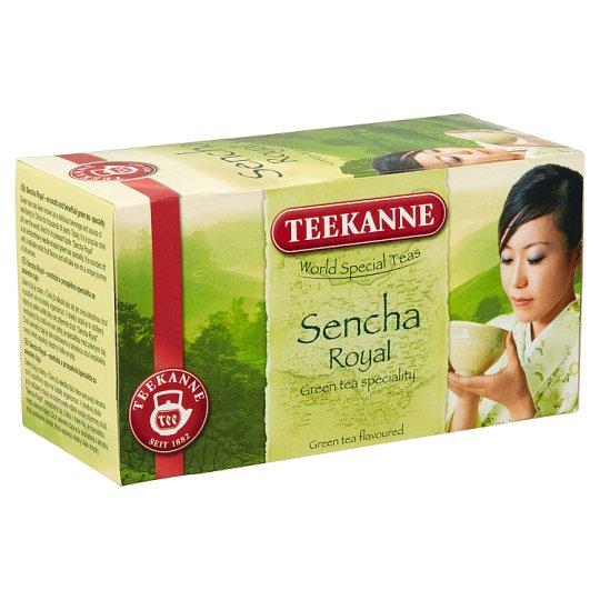 Teekanne Sencha Royal egzotikus gyümölcs ízesítésű zöld tea 20 filter 35 g