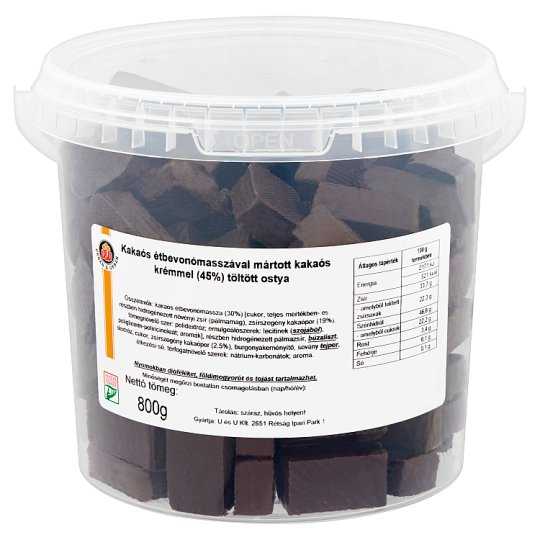 Urbán & Urbán Cocoa Coated Cocoa Cream Filled Wafers 800 g