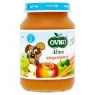 Ovko glutén- és tejszármazékmentes alma sárgarépával bébiétel 5 hónapos kortól 190 g