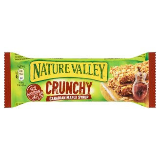 Nature Valley Crunchy Cereal Bars Made with Whole Grain Rolled Oats and Canadian Maple Syrup 42 g
