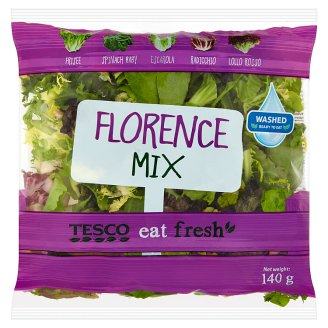 Tesco Washed, Ready-To-Eat Florence Mix 140 g