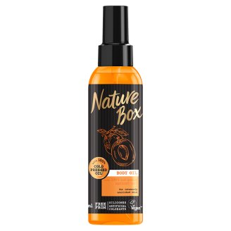 Nature Box Body Oil with Cold Pressed Apricot Oil 150 ml