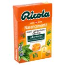 Ricola Orange Mint Sugar-Free Swiss Herb Drops with Sweeteners 40 g