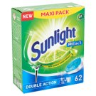 Sunlight All in 1 Double Action Dishwashing Tabs 62 pcs 1085 g