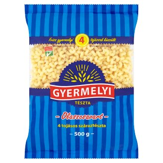 Gyermelyi Italian Twisted Dry Pasta with 4 Eggs 500 g
