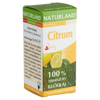 Naturland Aromatherapy Lemon Essential Oil 10 ml