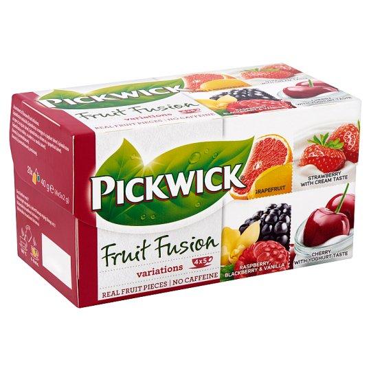 Pickwick Fruit Fusion Fruit Tea Variations 20 Tea Bags 40 g