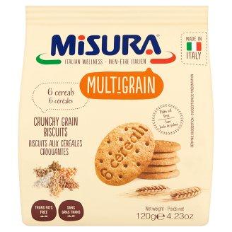 Misura 6 magvas keksz 6 féle gabona keverékéből 120 g