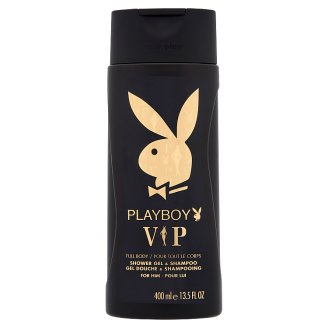 Playboy VIP Full Body Shower Gel & Shampoo for Him 400 ml
