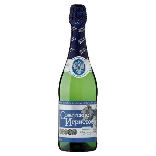 Szovjetszkoje Igrisztoje különlegesen száraz fehér pezsgő 11% 750 ml