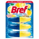 Bref Duo Aktiv Lemon Toilet Block 3 x 50 ml