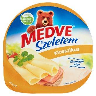 Medve Szeletem Klasszikus Natural, High Fat Semi-Hard Cheese 125 g
