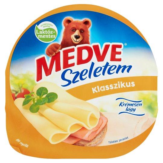 Medve Szeletem Klasszikus natúr, zsírdús, félkemény sajt 125 g