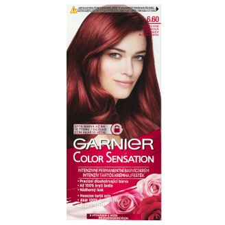Garnier Color Sensation 6.60 Intensive Rubin Red Intensive Permanent Cream Hair Colorant