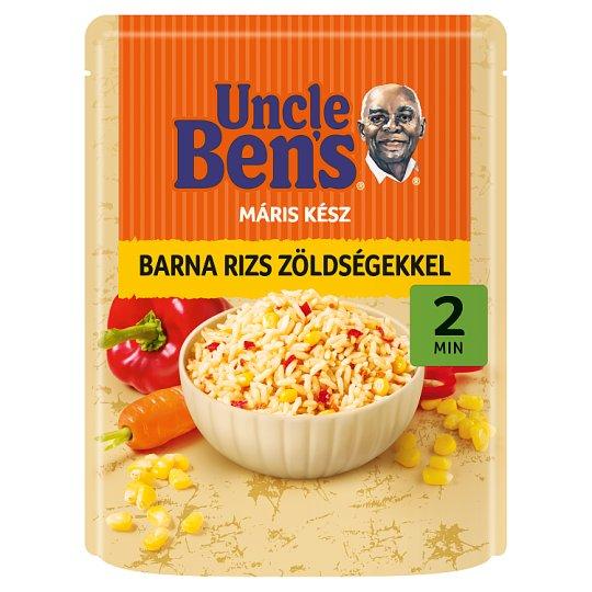 Uncle Ben's barna rizs zöldségekkel 250 g