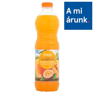 Tesco Multifruit Drink with Mangosteen Flavour, with Sugar and Sweetener 1,5 l