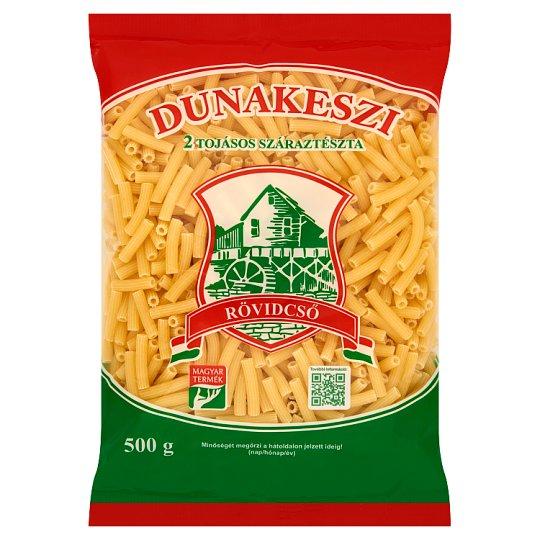 Dunakeszi Short Macaroni Dry Pasta with 2 Eggs 500 g