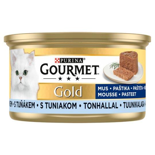 Gourmet Gold Pástétom nedves macskaeledel tonhallal 85 g - Tesco ... 550758db88