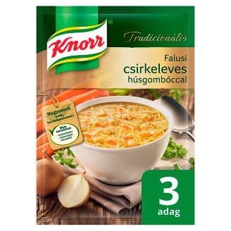 Knorr Tradicionális Villager Chicken Soup with Meat Balls 66 g