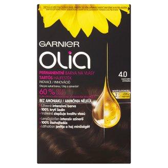 Garnier Olia 4.0 sötétbarna tartós hajfesték