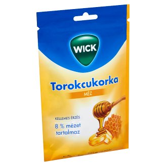 Wick Honey Flavoured Throat Candy 72 g
