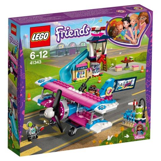 image 1 of LEGO Friends Heartlake City Airplane Tour 41343