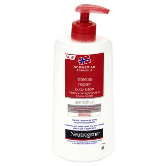 Neutrogena Intense Repair Body Lotion for Sensitive Skin 400 ml