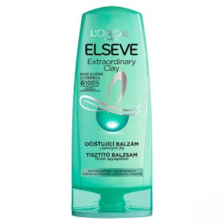 L'Oréal Paris Elseve Extraordinary Clay tisztító balzsam normál, gyorsan zsírosodó hajra 200 ml