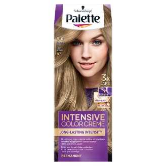 Schwarzkopf Palette Intensive Color Creme Intense Cream Hair Colorant 8-0 Light Blonde (N7)