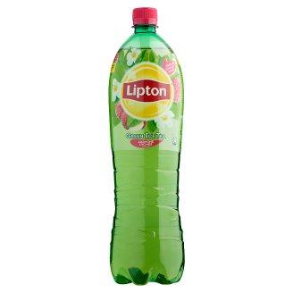 Lipton Ice Tea Green, jázmin és licsi ízű csökkentett energiatartalmú 1,5 l