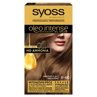 Syoss Color Oleo Intense Oil Hair Colorant 8-60 Honey Blonde