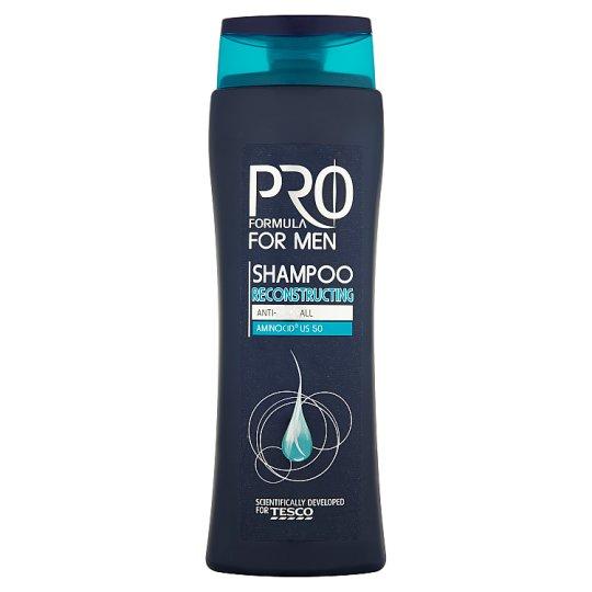 Tesco Pro Formula for Men Reconstructing sampon férfiaknak 400 ml