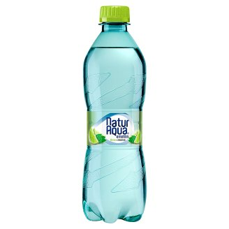 NaturAqua Emotion Lime and Mint Flavoured Carbonated Drink 500 ml
