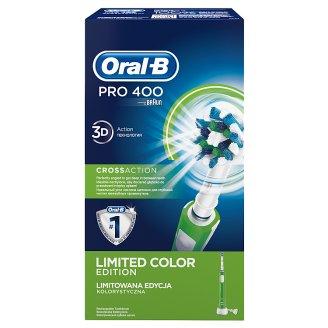 Oral-B PRO 400 Crossaction Tölthető Elektromos Fogkefe Braun Vezérléssel