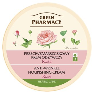 Green Pharmacy Anti-Wrinkle Nourishing Cream with Rose 150 ml