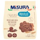 Misura Egg and Milk Free Biscuits with Puffed Rice and Cocoa 120 g