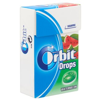 Orbit Drops Watermelon Sugar-Free Hard Candies with Sweeteners 33 g